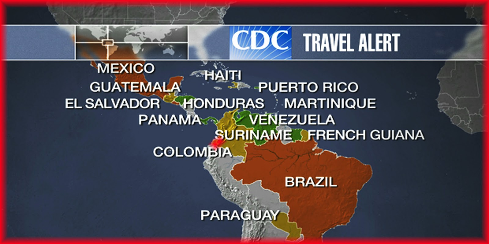 Zika Virus Spreads To The United States Travel Concerns And What - Zika virus map usa states