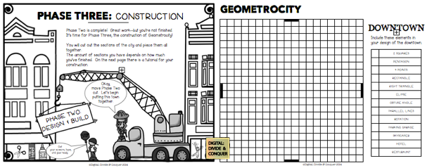 I love projects geometrocity the city made of math for Geometricity project