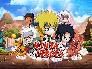 Cara Terbaru Mendapatkan Ninja S dan SS Ninja Heroes atau Ninja Kyuubi