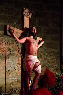 Cristo subido en la Cruz