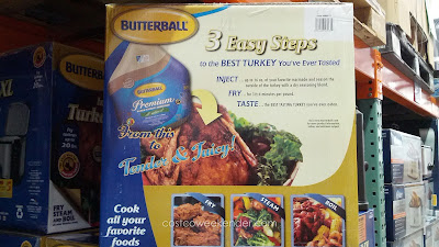 Stay away from that dry, oven roasted turkey this Thanksgiving. Try the Butterball 23013514 Indoor Electric Turkey Fryer