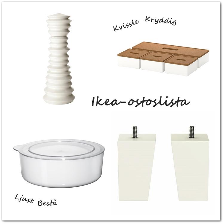 Ikea kaapin jalat
