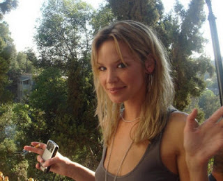 ashley scott smoking