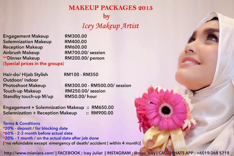 Perkhidmatan Makeup Artist / Juru solek