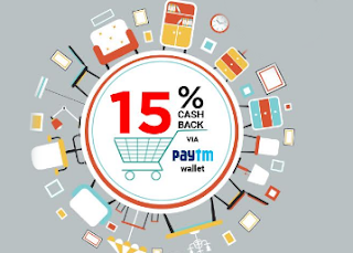 Pepperfry 30% Cashback with Paytm Wallet