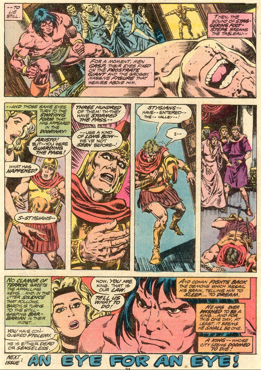 Conan the Barbarian (1970) Issue #80 #92 - English 18