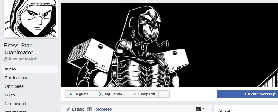 Mi fan page de Facebook