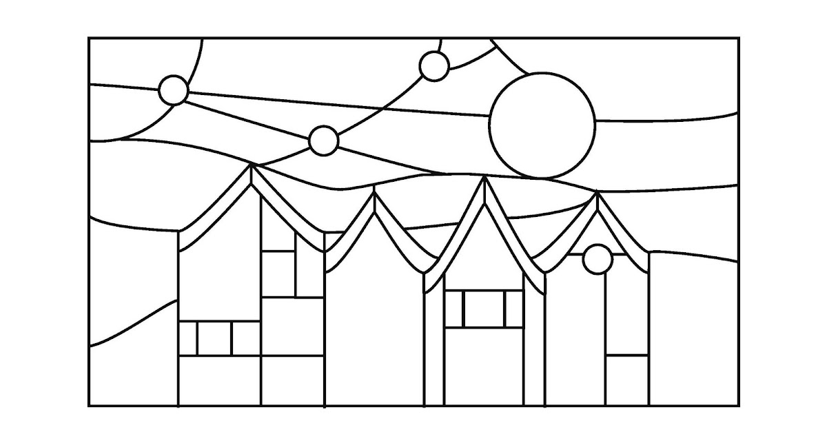 stained glass patterns for free  simple stained glass patterns
