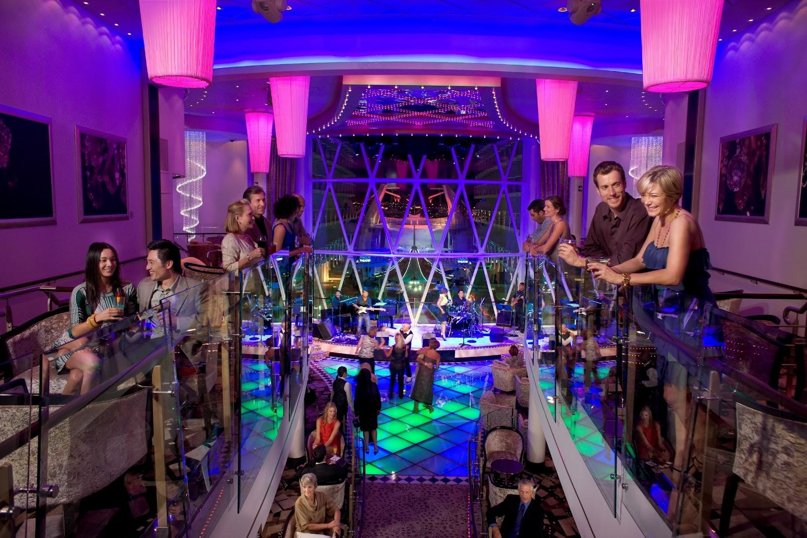 Royal Caribbean Arabias Blog Cruise Talk Night Life Onboard A - Jazz cruise ships