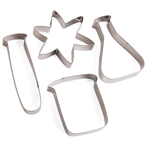 Scientific Cookie Cutters | Credit: thinkgeek.com