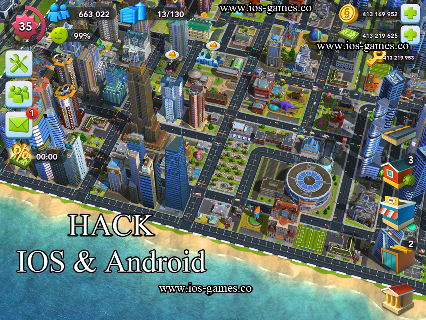 how to build your city in simcity buildit
