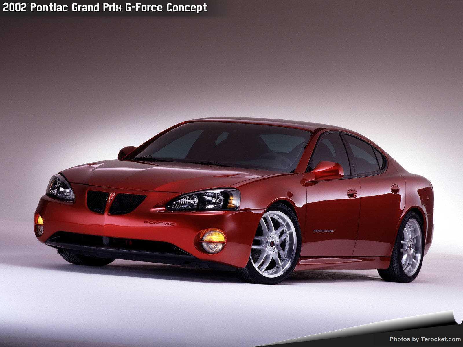 Hình ảnh xe ô tô Pontiac Grand Prix G-Force Concept 2002 & nội ngoại thất
