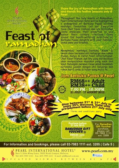 RAMADAN BUFFET AT CAFE5, PEARL INTERNATIONAL HOTEL
