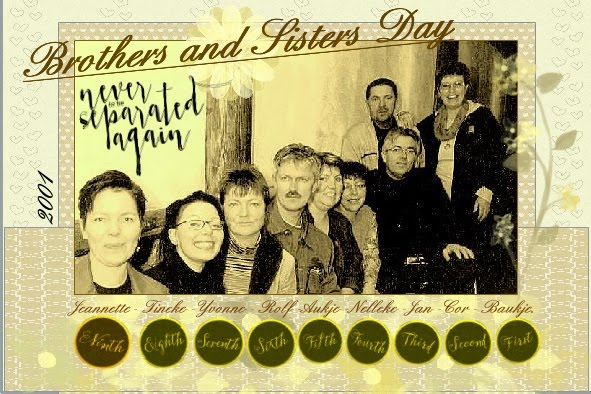 May 2016 - Brothers and Sisters Day