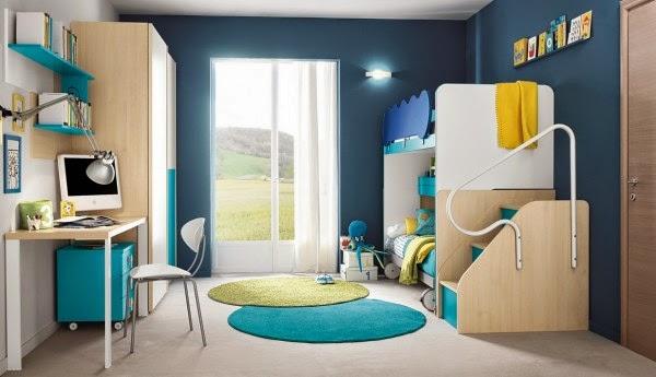 4169 صور اثاث غرف نوم اطفال و شباب مودرن   صور ديكورات و حوائط غرف نوم حديثة