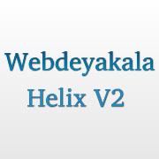 Webdeyakala Helix V2 Blogger Teması
