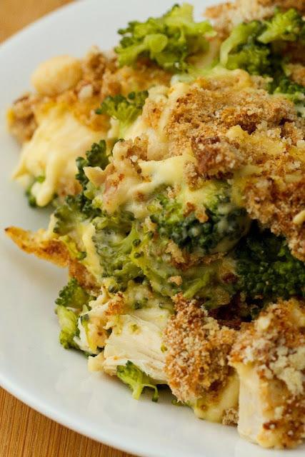 Chicken Divan Casserole with Broccoli & Cheddar Cheese ...