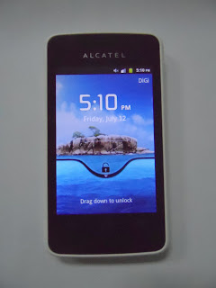 Depan: Cara Unlock Alcatel One Touch Glory 2S SIM ME Digi Rebet RM50