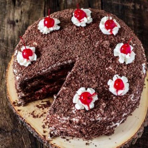 「黒い森」の名物「Black Forest Cake」