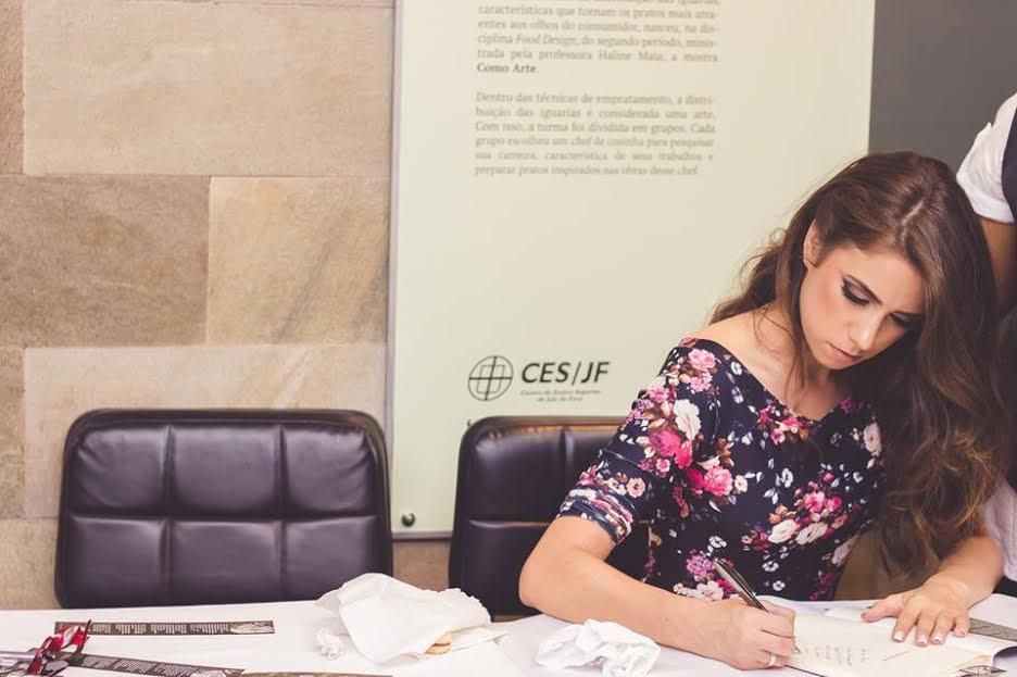 Autora parceira, Rafaela Perensi