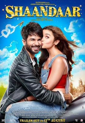 Shaandaar 2015 Hindi DVDScr 700mb Free Download World4ufree