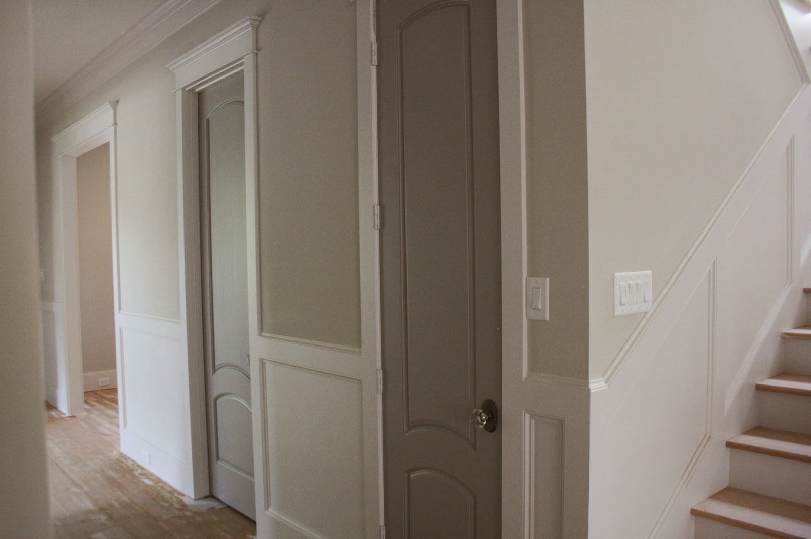 And The Doors, Study Built Ins, And The Closet Built Ins Are SW Pussywillow.