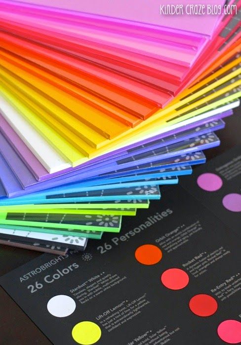 Astrobrights #ColorizeYourClassroom giveaway