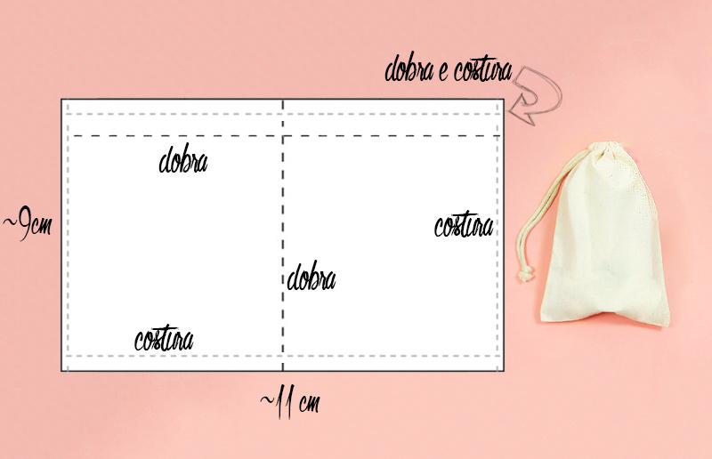 Tutorial: como fazer o saquinho
