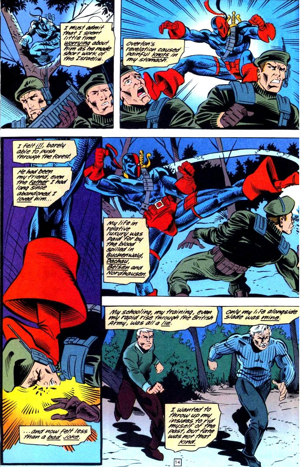 Deathstroke (1991) Issue #36 #41 - English 15