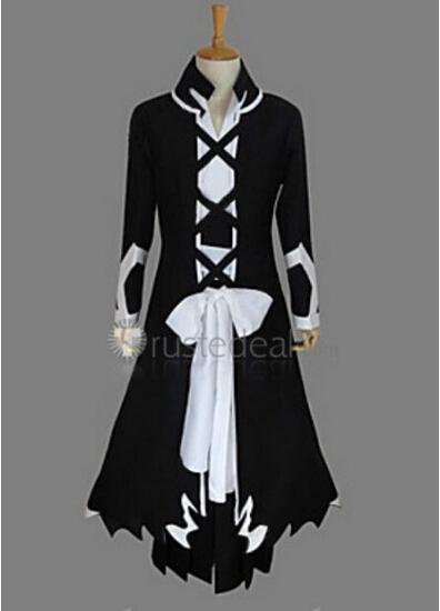 Bleach Ichigo Kurosaki Fullbring Bankai Cosplay Costume