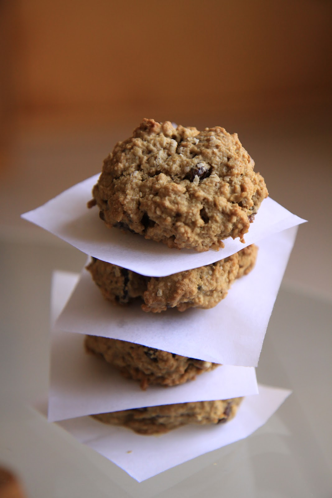 Cook With No Books: Savory fruit oatmeal cookies