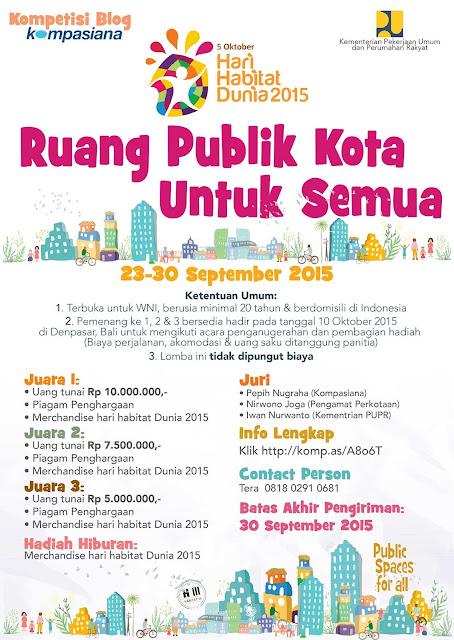 Ruang Publik Kota Untuk Semua