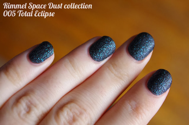 Rimmel Space Dust collection 005 Total Eclipse - Nina no mugen