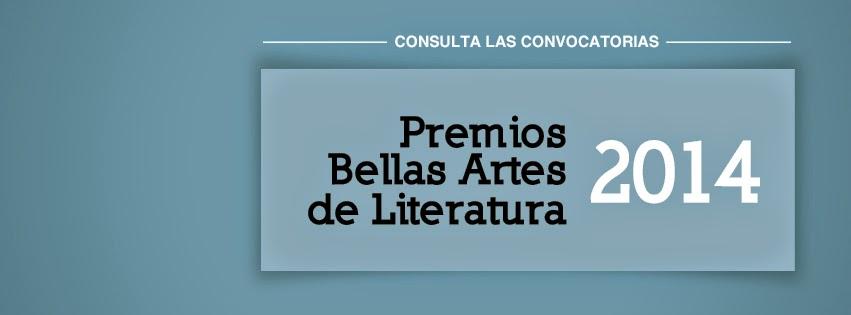 Convocatorias a los Premios Bellas Artes de Literatura 2014