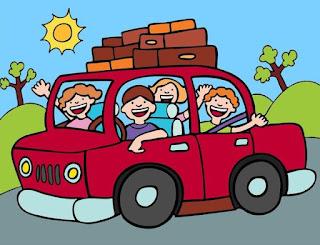 Путешествие с детьми в машине