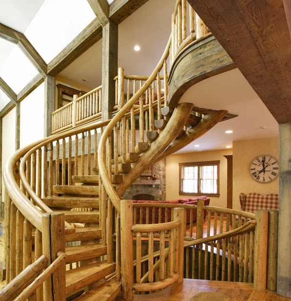 amazing wood stairs