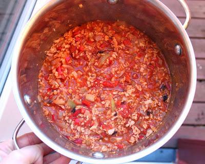Oppskrift Hjemmelaget Tacofyll Chili Con Soya Chiligryte Vegansk Taco Vegetartaco