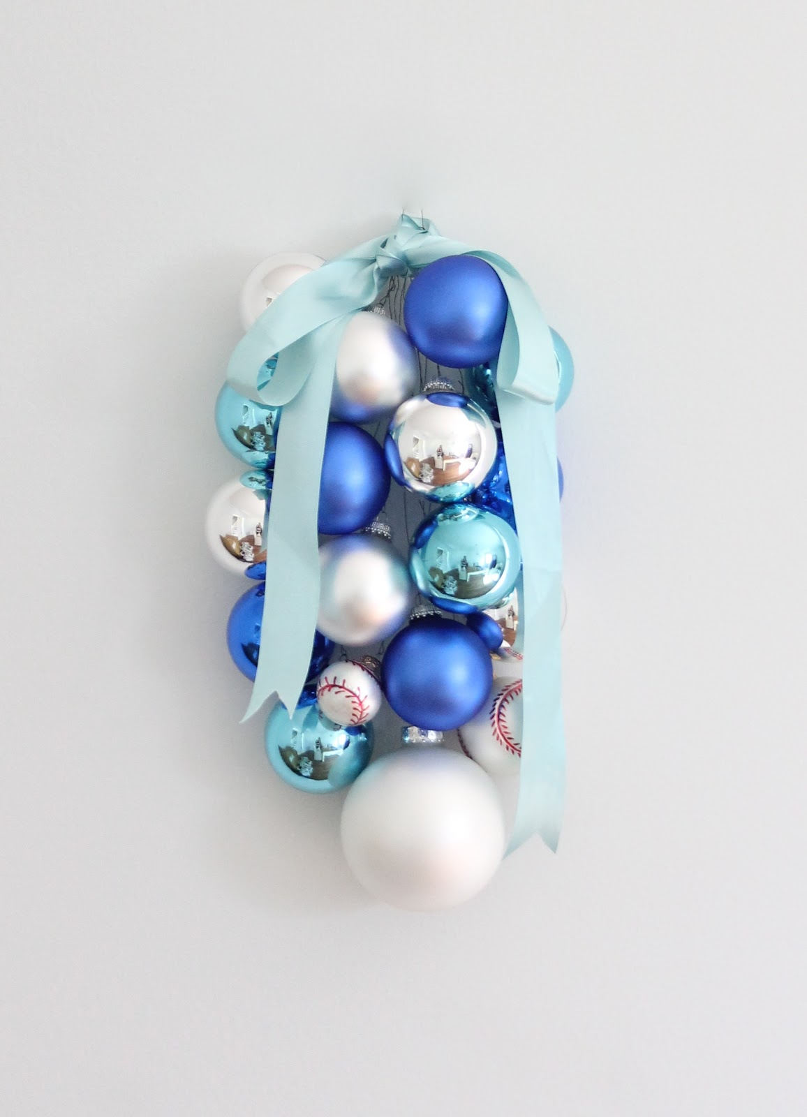 DIY Ornament Swag