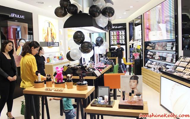 shu uemura, Rouge Unlimited Sheer Shine Lipstick, shu Uemura New Concept Store, shu uemura lipstick, shu bear, shu eumura malaysia