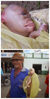 Filhote de Cabra nasce com deformidade na comunidade de Ipueira