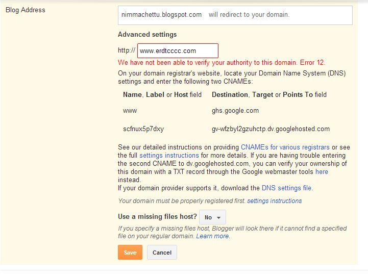 Learn How to Add Custom Domain Name to Your Blogger Blog