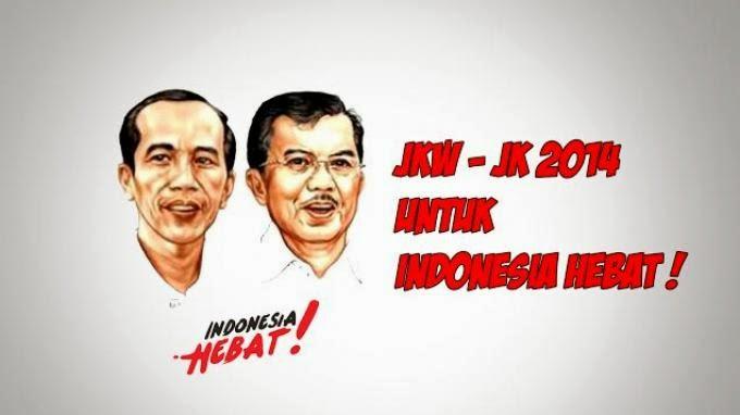 Aksi Gerakan 1000 Rupiah Joko Widodo dan Jusuf Kalla