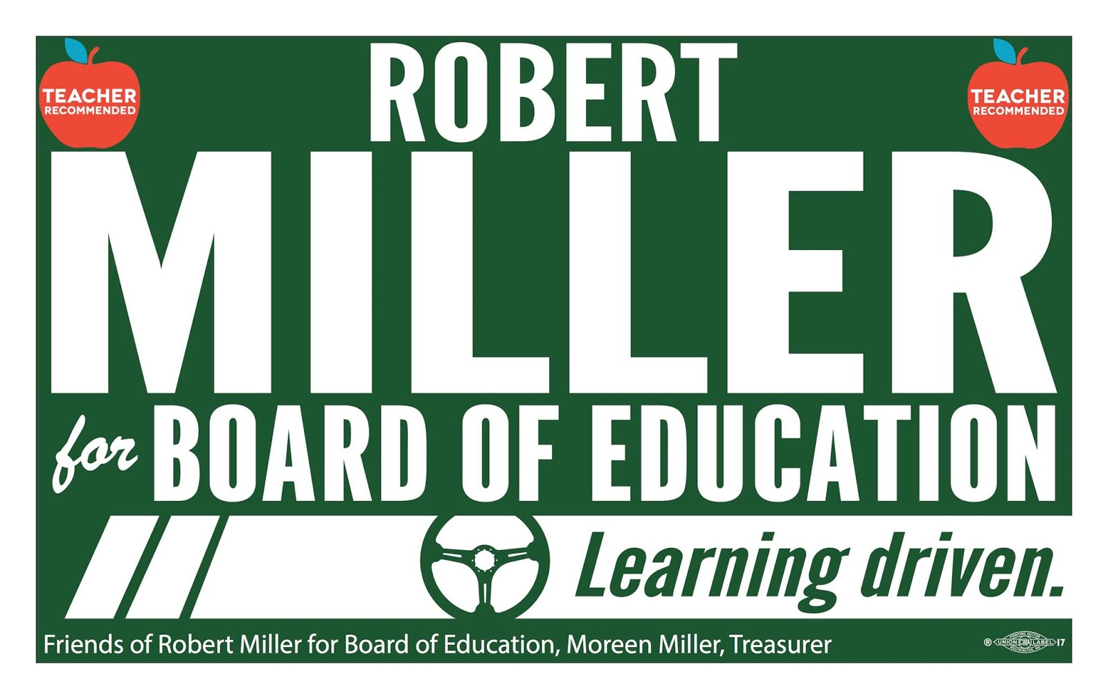 Robert Miller for Howard County Board of Education