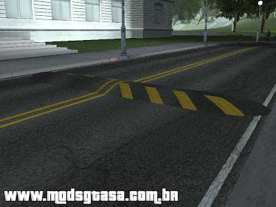 Quebra Molas (Lombadas) para GTA San Andreas