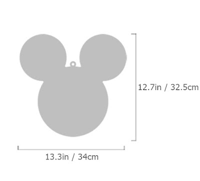 Purchasing Information. NEW 1SET 4pcs Mickey Mouse Character Wall Mirror Home Decor