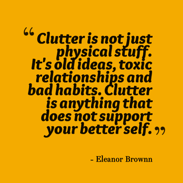 Brown Girl From Boston Declutter Your Life And Free Mind