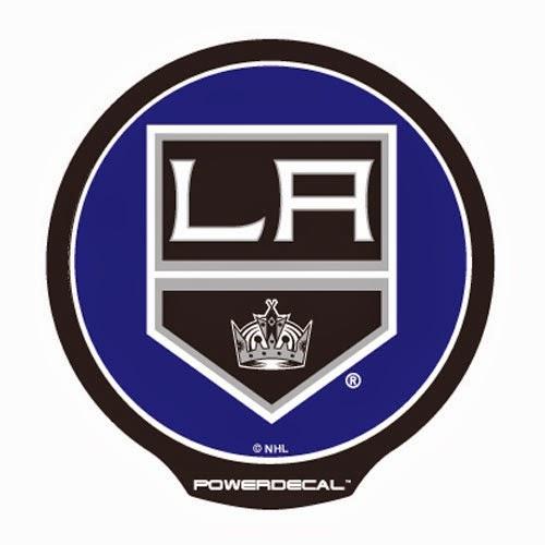 Los Angeles Kings NHL Power Decal <br />Car Window Light