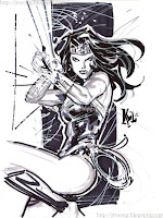 Wonder Woman by Ken Lashley