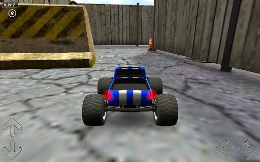 لعبة سباق الشاحنات للاندرويد - Toy Truck Rally 3D APK