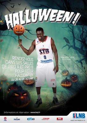 La Ligue Nationale de Basket se transforme pour Halloween